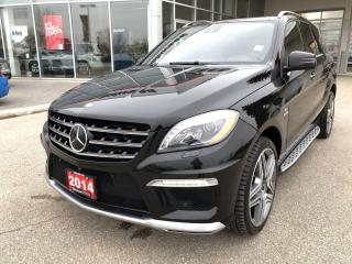 Used 2014 Mercedes-Benz ML-Class ML 63 AMG for sale in Winnipeg, MB