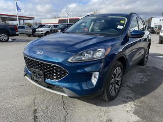 Used 2020 Ford Escape Titanium - AWD, HEATED LEATHER, 8,300 KMs! for sale in Kingston, ON