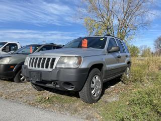 Used 2004 Jeep Grand Cherokee LAREDO - AC for sale in Kingston, ON