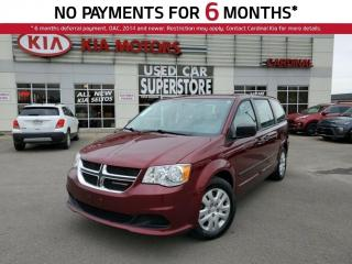 Used 2017 Dodge Grand Caravan SXT, Canadian Value Package, A/C, Cruise Control. for sale in Niagara Falls, ON