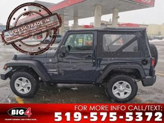 Used 2018 Jeep Wrangler JK SPORT 4WD for sale in Calgary, AB
