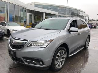 Used 2016 Acura MDX Navigation Package LEATHER  ROOF  NAVI  BLIS  HTD for sale in Ottawa, ON