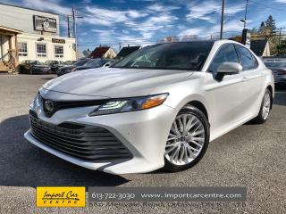 Used 2018 Toyota Camry XLE V6 LEATHER  ROOF  NAVI  BLIS  JBL SOUND  360 C for sale in Ottawa, ON