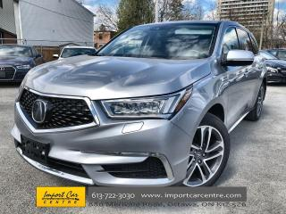 Used 2018 Acura MDX Navigation Package LEATHER  ROOF  NAVI  BLIS  HTD for sale in Ottawa, ON