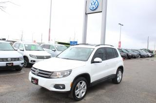 Used 2016 Volkswagen Tiguan 2.0T Comfortline 4Motion for sale in Whitby, ON