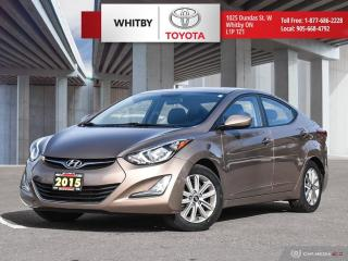 Used 2015 Hyundai Elantra Sport Appearance for sale in Whitby, ON