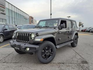 New 2021 Jeep Wrangler Unlimited NAVI LEATHER SAFETY GROUP AND BLIND SPOT for sale in Pickering, ON