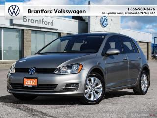 Used 2017 Volkswagen Golf 5-Dr 1.8T Comfortline 6sp at w/Tip for sale in Brantford, ON