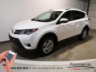 Used 2014 Toyota RAV4 LE Warranty Camera Htd Seats AWD 39MPg Clean for sale in Brandon, MB