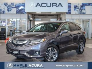 Used 2017 Acura RDX Elite, Acura Certified 7/160km warranty, No Accide for sale in Maple, ON