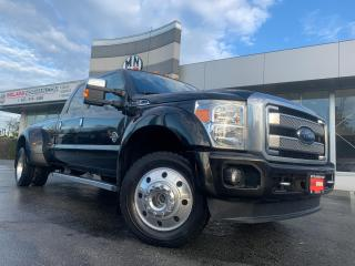 Used 2015 Ford F-450 Platinum LB DRW 4WD NAVI SUNROOF LEATHER for sale in Langley, BC