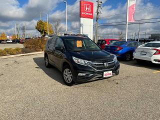 Used 2016 Honda CR-V SE for sale in Waterloo, ON