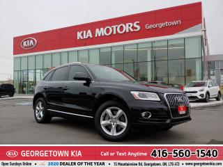 Used 2015 Audi Q5 3.0T Progressiv | LTHR | NAV | PANO ROOF | 76,147K for sale in Georgetown, ON