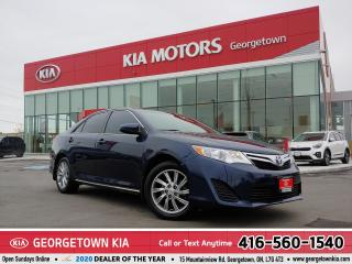 Used 2014 Toyota Camry LE | ONE OWNER | LTHR | B/U CAM | BLUETOOTH | for sale in Georgetown, ON