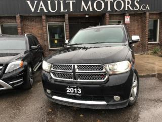 Used 2013 Dodge Durango 4WD 4dr Citadel(leather) for sale in Brampton, ON
