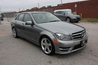 Used 2014 Mercedes-Benz C-Class 4Dr C350 4MATIC for sale in Newmarket, ON