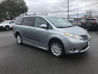 Used 2011 Toyota Sienna Limited BRAUN ability Wheelchair conversion VAN for sale in Truro, NS