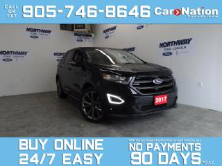 Used 2017 Ford Edge SPORT | AWD | PANO ROOF | NAV | 21'' RIMS | 35KM for sale in Brantford, ON