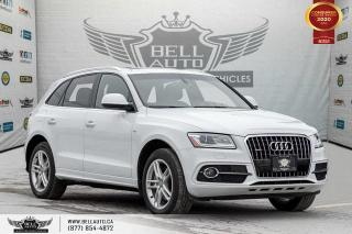 Used 2017 Audi Q5 3.0T Progressiv, S-LINE, AWD, NAVI, REAR CAM, PANO ROOF for sale in Toronto, ON