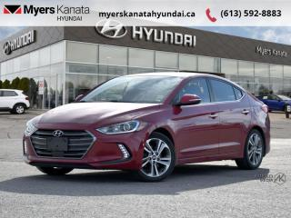 Used 2017 Hyundai Elantra Limited Ultimate  - $97 B/W for sale in Kanata, ON
