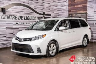 Used 2019 Toyota Sienna LE+CAM/RECUL+SIEGE/CHAUFF+BLUETOOTH for sale in Laval, QC