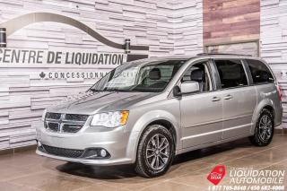 Used 2017 Dodge Grand Caravan SXT Premium Plus+STOWNGO+GR/ELECT+BLUETOOTH+CUIR for sale in Laval, QC