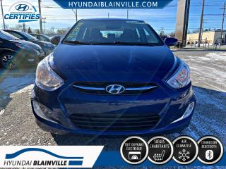 Used 2016 Hyundai Accent SE TOIT, MAGS, BLUETOOTH, BANCS CHAUFFAN for sale in Blainville, QC