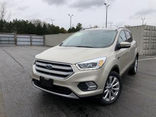 Used 2017 Ford Escape Titanium 4WD for sale in Cayuga, ON