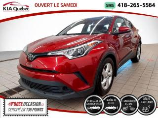 Used 2018 Toyota C-HR XLE* CAMERA* SIEGES CHAUFFANTS* for sale in Québec, QC