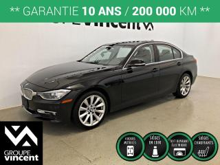 Used 2014 BMW 3 Series 320i xDrive AWD CUIR TOIT ** GARANTIE 10 ANS ** Offrez-vous une Allemande à prix abordable! for sale in Shawinigan, QC