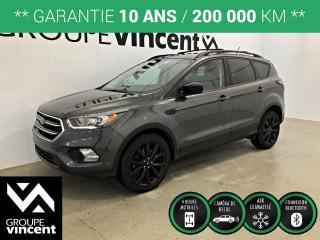 Used 2018 Ford Escape SE 1.5T AWD ** GARANTIE 10 ANS ** VUS quatre roues motrices, parfait pour nos hivers! for sale in Shawinigan, QC
