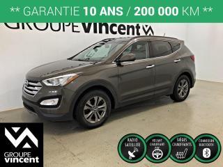 Used 2014 Hyundai Santa Fe SPORT 2.4 PREMIUM ** GARANTIE 10 ANS ** Occasion à saisir, bas kilométrage! for sale in Shawinigan, QC