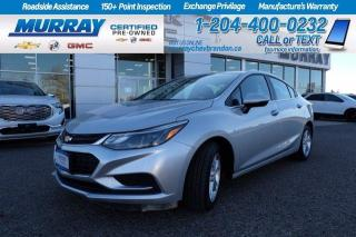 Used 2017 Chevrolet Cruze *Heated Seats* Remote Start* Backup Cam* Certified for sale in Brandon, MB