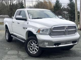 Used 2013 RAM 1500 LARAMIE  QUAD   TOIT OUVRANT for sale in St-Malachie, QC