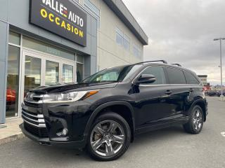 Used 2018 Toyota Highlander AWD limited for sale in St-Georges, QC