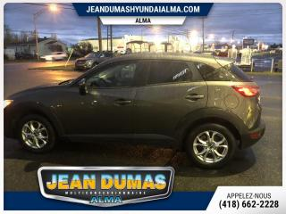 Used 2018 Mazda CX-3 GS TRACTION INTEGRALE IMPECABLE for sale in Alma, QC