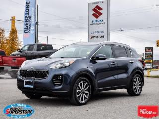 Used 2017 Kia Sportage EX AWD ~Heated Leather Seats + Wheel ~Backup Cam for sale in Barrie, ON