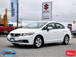 Used 2014 Honda Civic LX for sale in Barrie, ON
