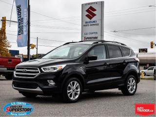 Used 2017 Ford Escape SE AWD ~2.0L ~Nav ~Backup Camera ~Heated Seats for sale in Barrie, ON
