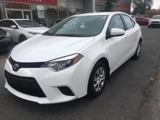 Used 2016 Toyota Corolla CE for sale in Longueuil, QC