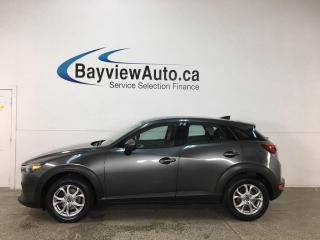 Used 2019 Mazda CX-3 GS - AWD! ALLOYS! PWR GROUP! HTD SEATS!G- AWD! ALLOYS! PWR GROUP! HTD SEATS! for sale in Belleville, ON