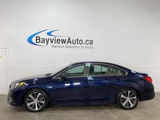 Used 2018 Subaru Legacy 3.6R Limited w/EyeSight Package - AWD! 3.6 H-6! HTD LEATHER! NAV! SUNROOF! for sale in Belleville, ON