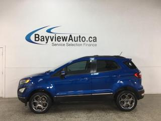 Used 2018 Ford EcoSport SES - ONLY 20,000KMS! 4X4! NAV! SUNROOF! 1/2 LEATHER! for sale in Belleville, ON