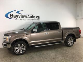 Used 2018 Ford F-150 Lariat - 4x4! PANOROOF! HTD/COOLED LTHR! NAV! LOADED! for sale in Belleville, ON
