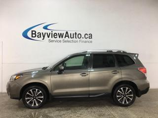 Used 2017 Subaru Forester 2.0XT Touring - AUTO! HTD LEATHER! NAV! SUNROOF! for sale in Belleville, ON