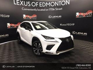 Used 2018 Lexus NX 300 F Sport Series 2 for sale in Edmonton, AB