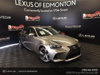 Used 2017 Lexus IS 350 Executive Package for sale in Edmonton, AB