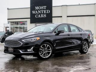 Used 2020 Ford Fusion TITANIUM|BLIND|LDW|NAV|HEATED+COOLED SEATS|19