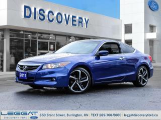 Used 2011 Honda Accord Coupe EX-L 5sp for sale in Burlington, ON