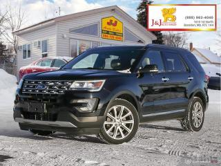 Used 2016 Ford Explorer Limited, 4X4, Leather for sale in Brandon, MB